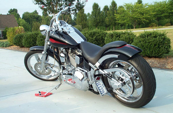 Choppers and Customs For Sale Rigid and Softail Frame Styles